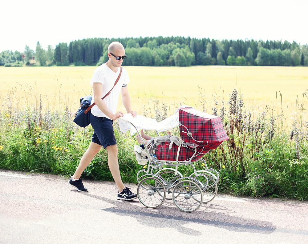 barnvagn retro Majken Värmland