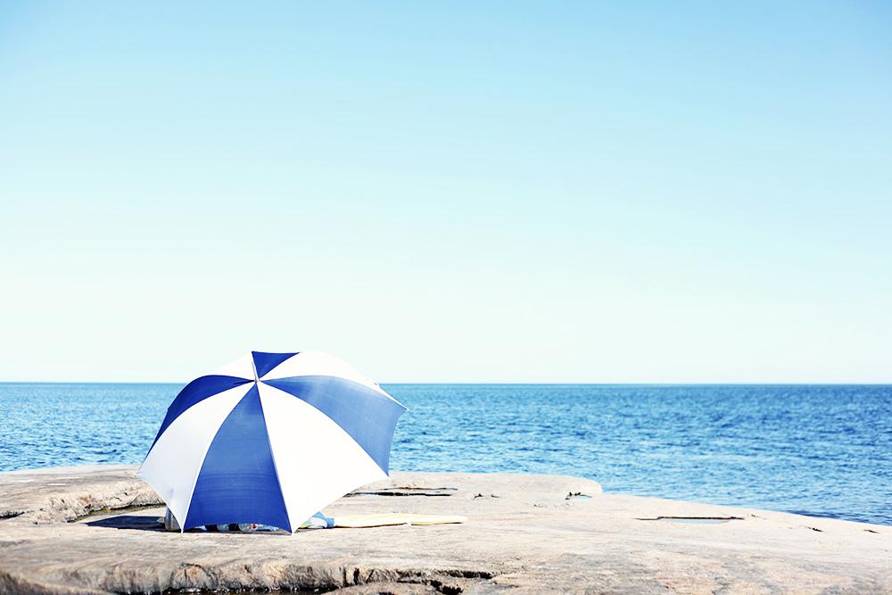 parasoll sommar västerbotten norrland