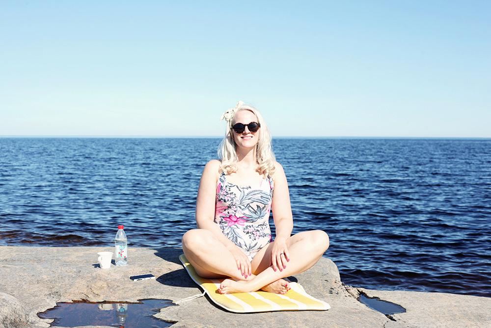 baddräkt sommar västerbotten norrland emmasvintage