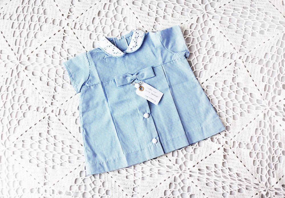 barnkläder vintage klänning emmasvintage