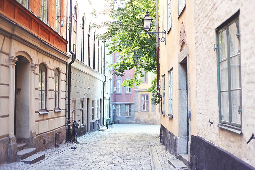 Gamla stan Stockholm höst
