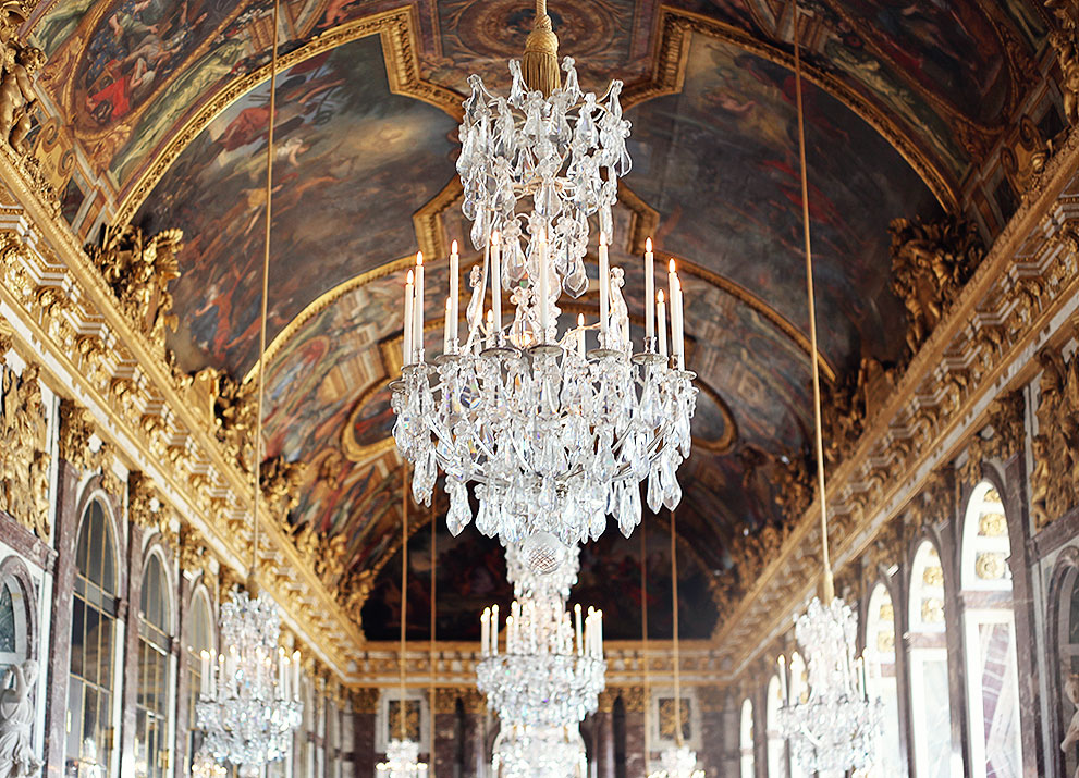 Versailles Frankrike slott