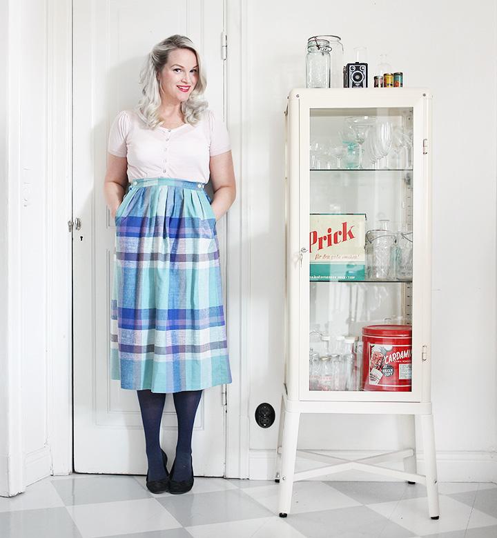 kjol kläder vintage