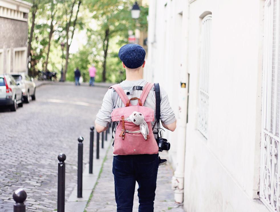 Paris barn resa Montmartre