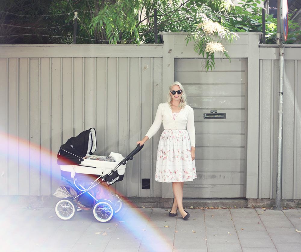Södermalm barnvagn vintage
