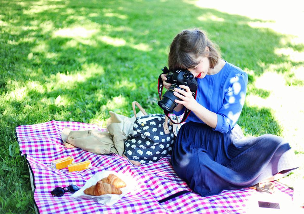 picknick midsommarkransen