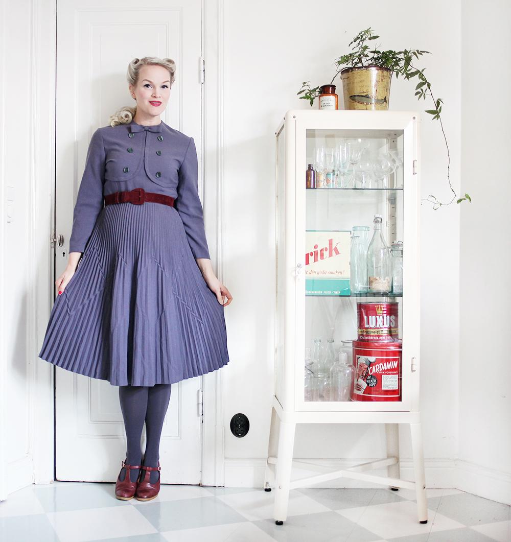 klänning vintage gravidkläder gravid gravidmage vecka 17