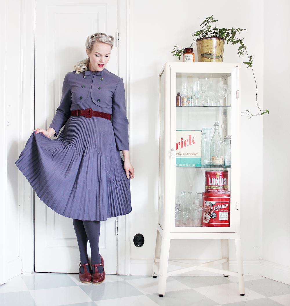 klänning vintage gravidkläder gravid skärp gravidmage vecka 17