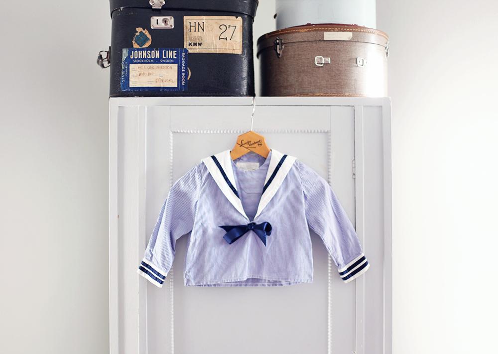 sjömanströja sailor barnkläder vintage