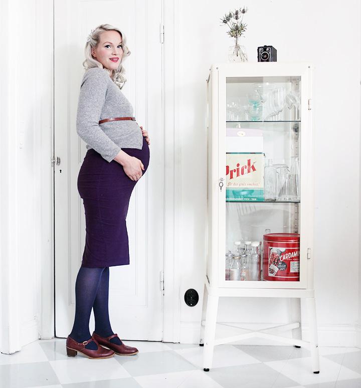 gravid gravidmage vecka 37 gravidkläder