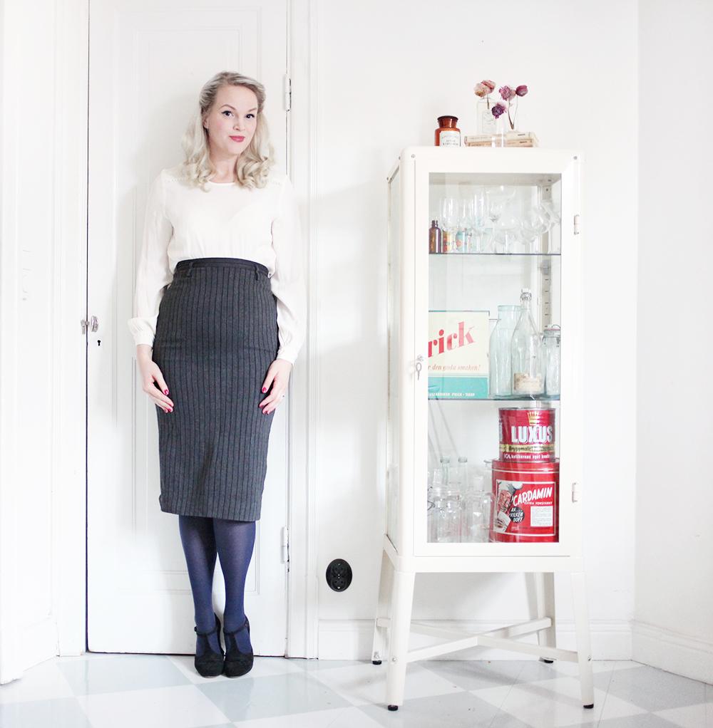 gravid vecka 19 gravidmage pennkjol gravidkläder