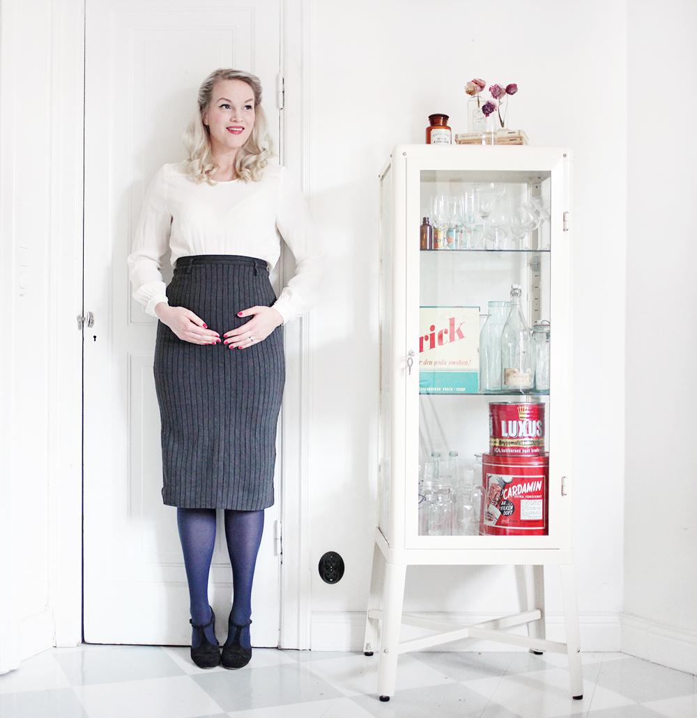 gravid gravidmage vecka 19 vänta barn bebis