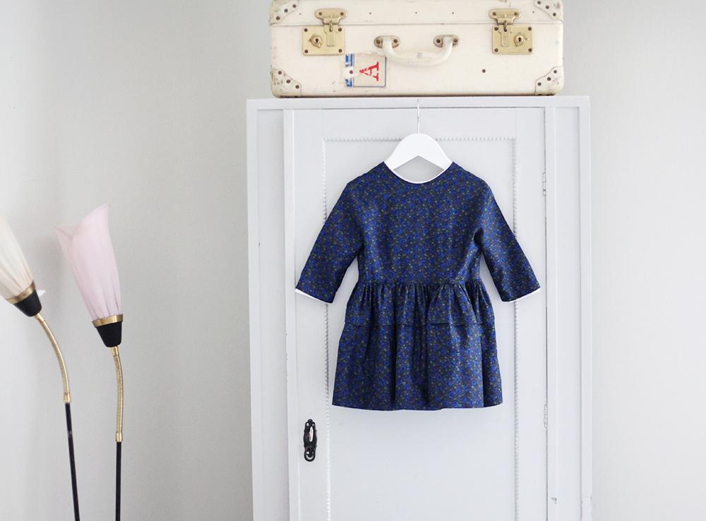 barnkläder barn kläder vintage klänning barnklänning 50-tal