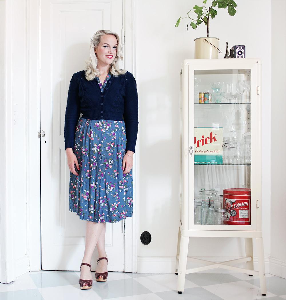 klänning swedish hasbeens emmy design vintage