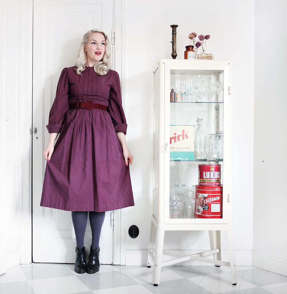 beyond retro vintage dress emma sundh