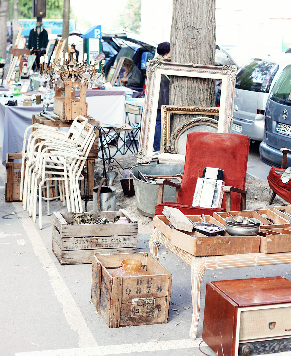 Paris guide vintage market by emmas vintage