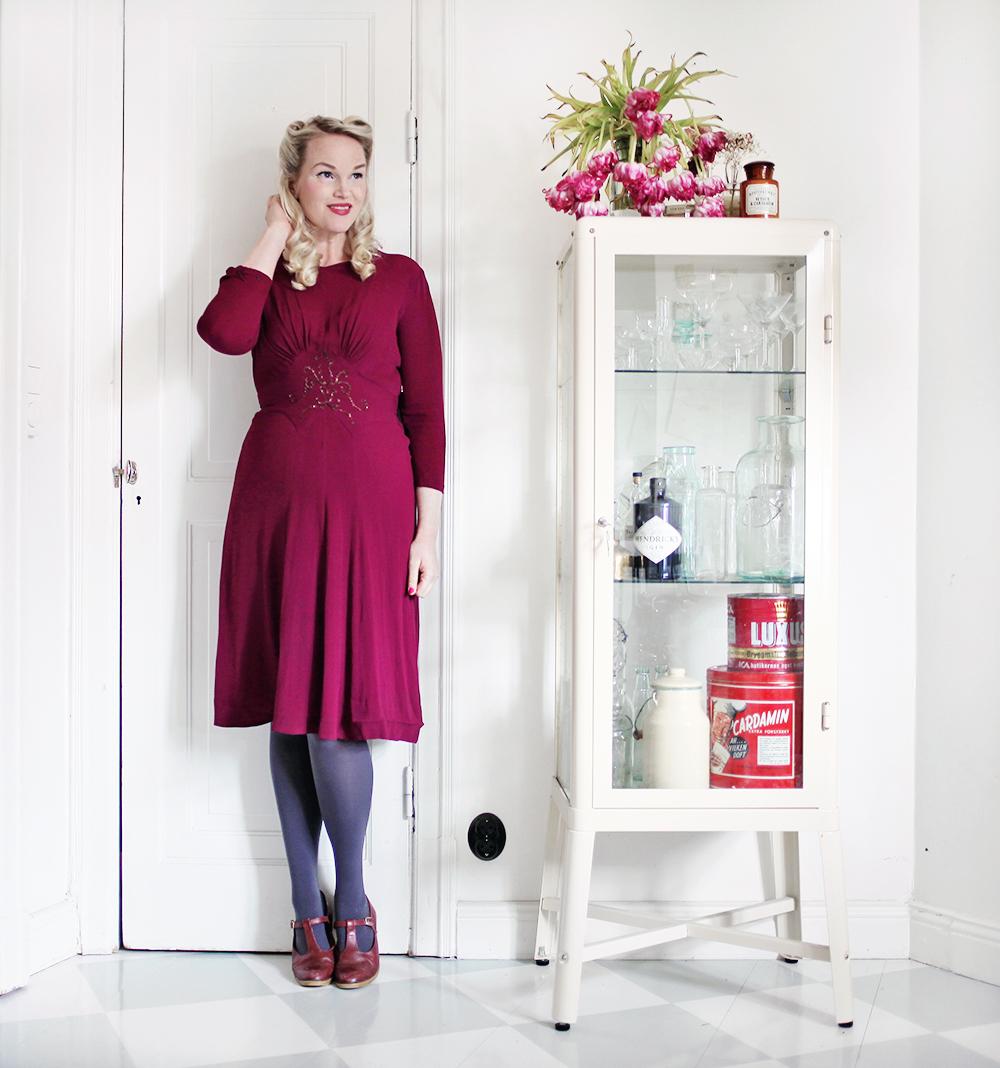 gravid vintage kläder mode gravidkläder