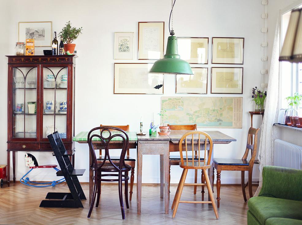 Visby inredning lampa vintage interior