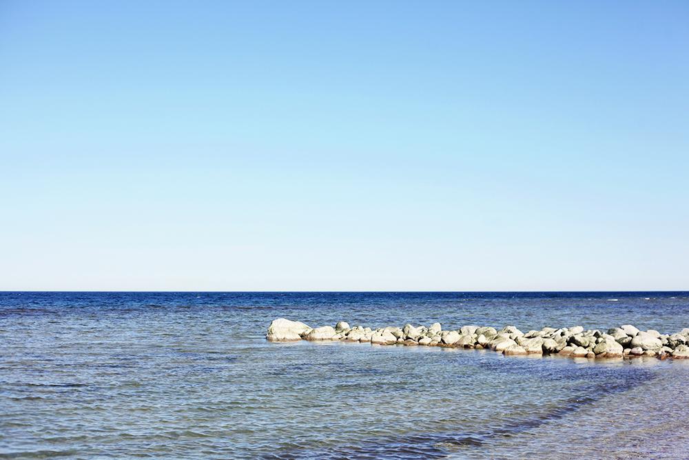 Visby Gotland strand