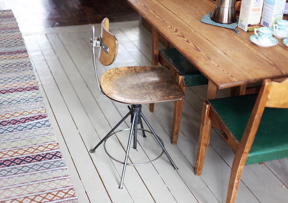 kök inredning stol