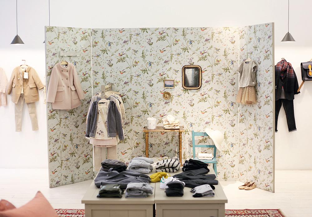 Paris guide kids shopping interior clothes