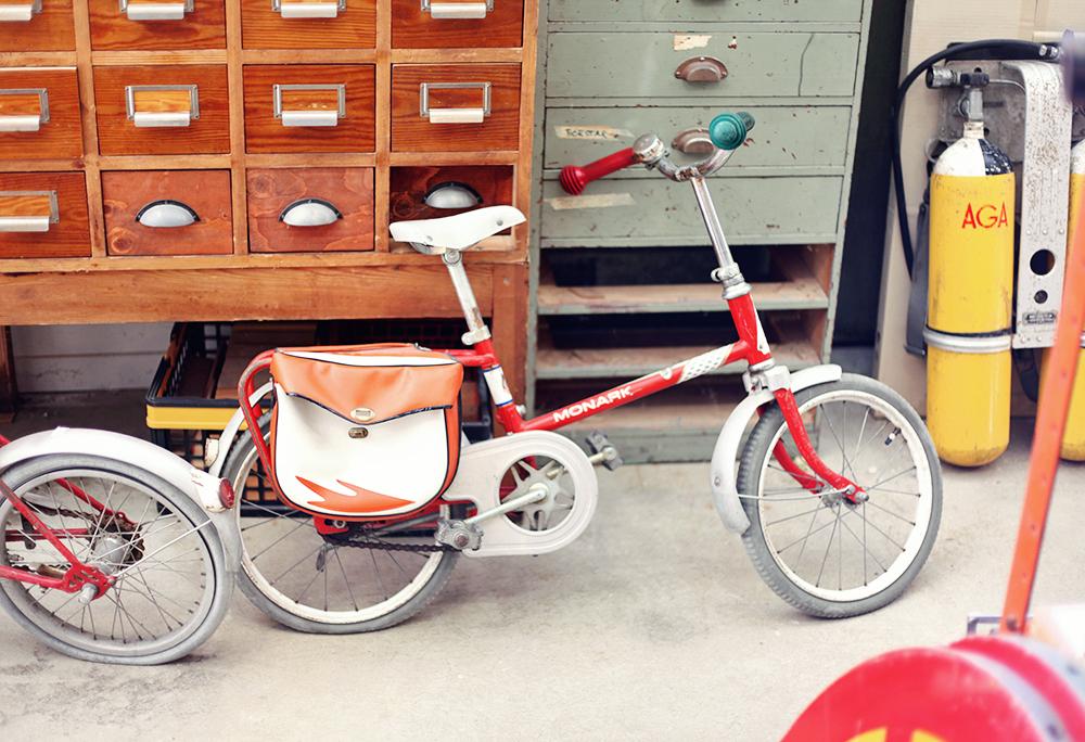 barncykel monark vintage visby gotland