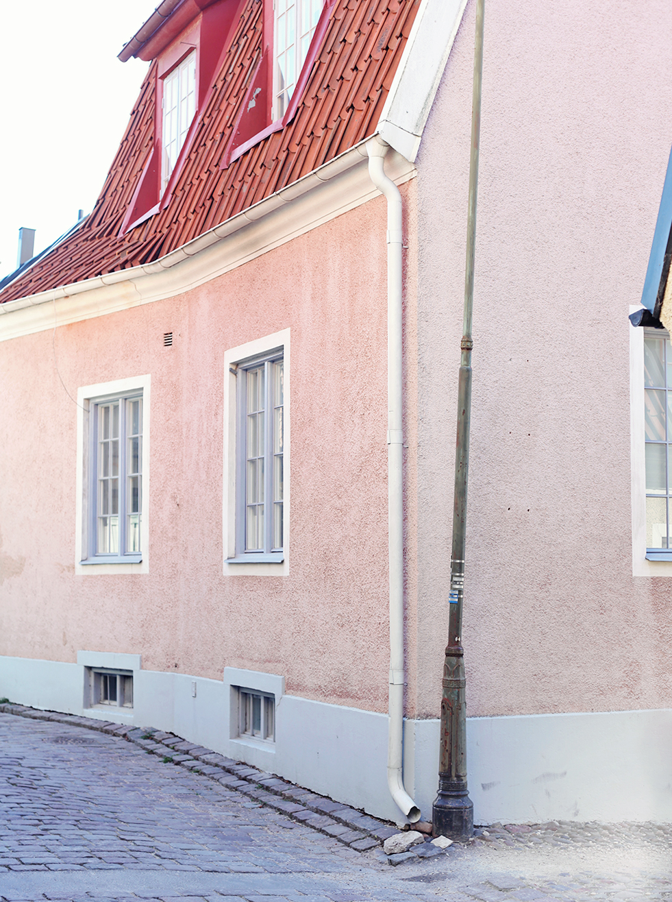 Gotland visby hus stenhus