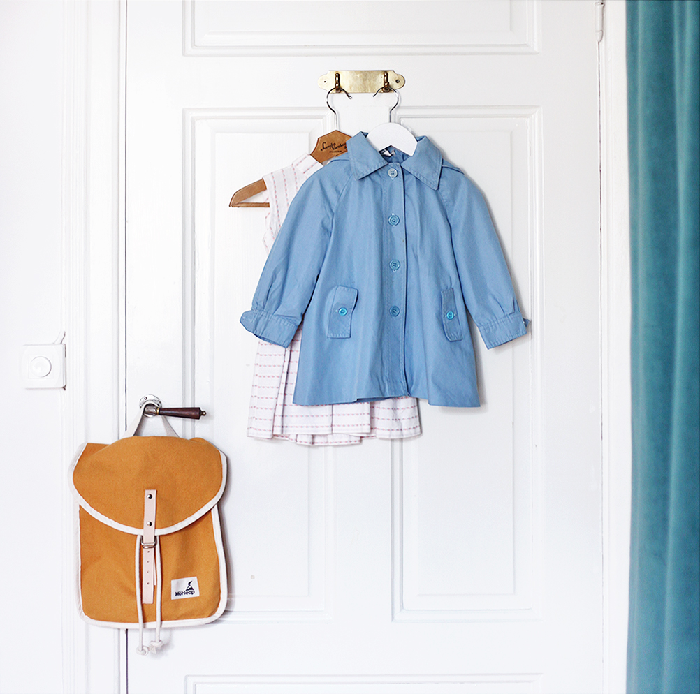 barnkläder fluga vintage