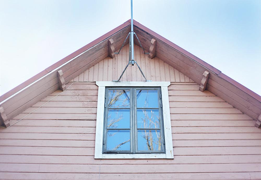 Gotland torp rosa hus