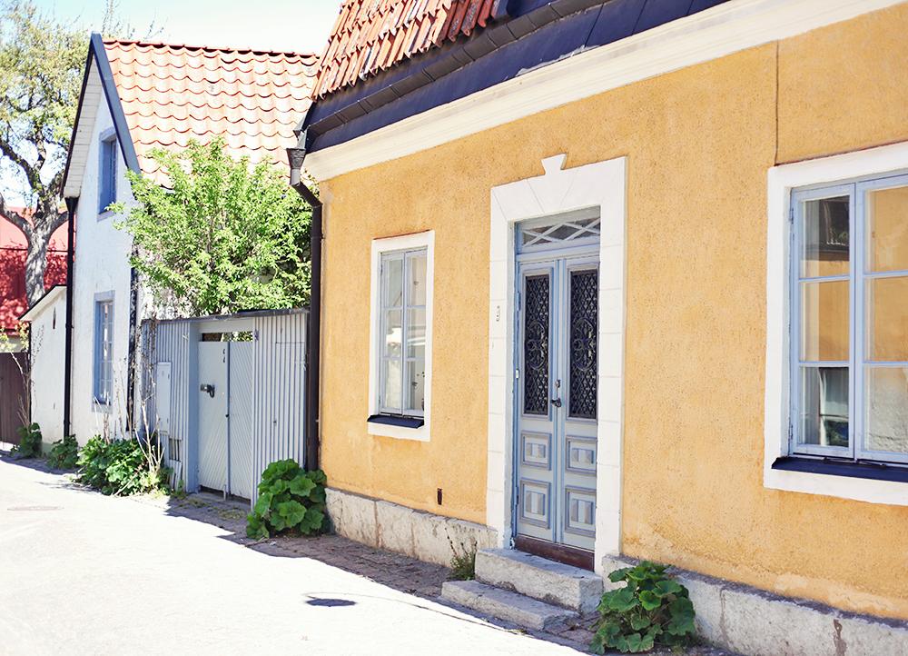 Gotland Visby stenhus hus