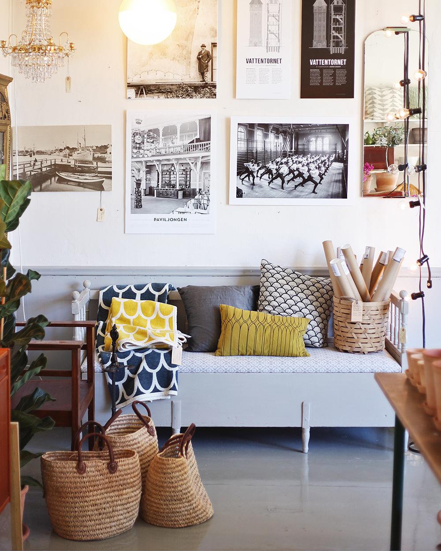 Gotland Visby akantus shopping inredning
