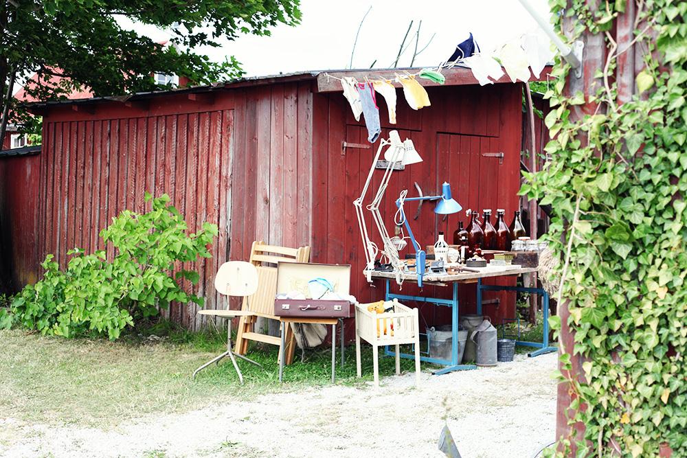 Gotland guide tips semester vintage fynda loppis fint o fult möbler lampor
