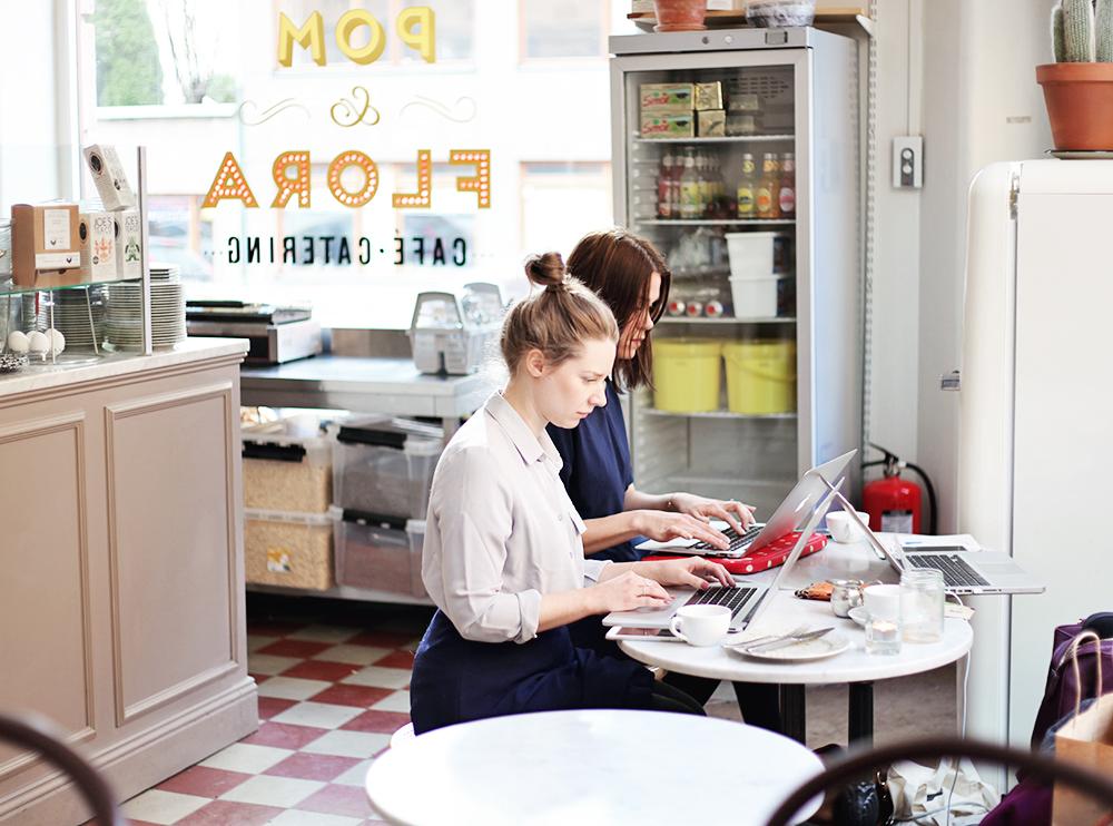 pom & flora caféer caféguide stockholm mysigt café frukost guide jobba