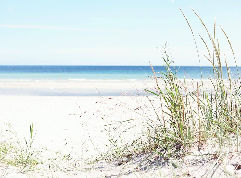 gotland strand sandstrand barnvänlig
