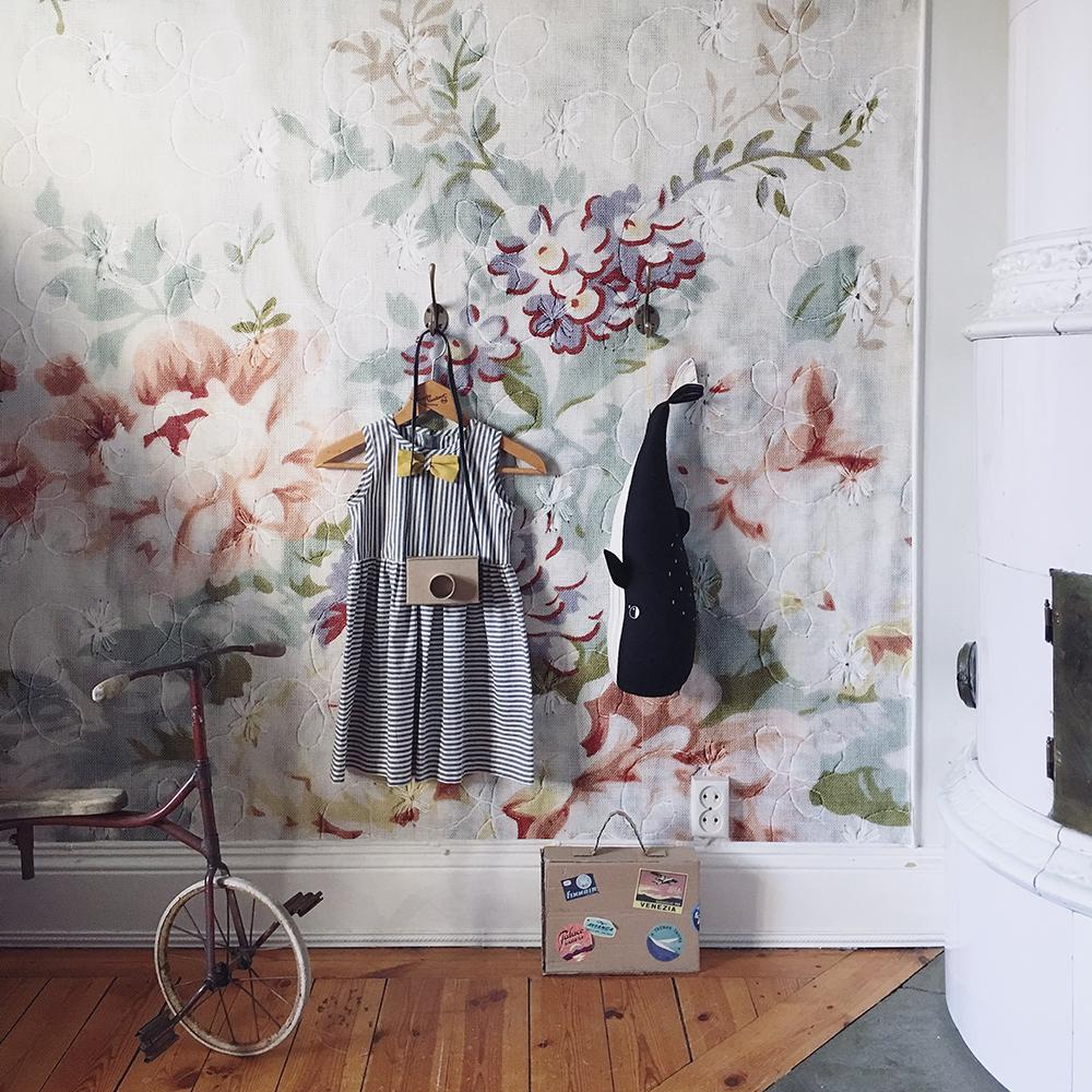barnrum blossom vintage inredning inspiration