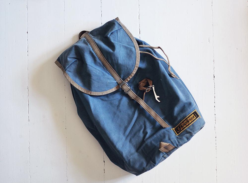ryggsäck vintage