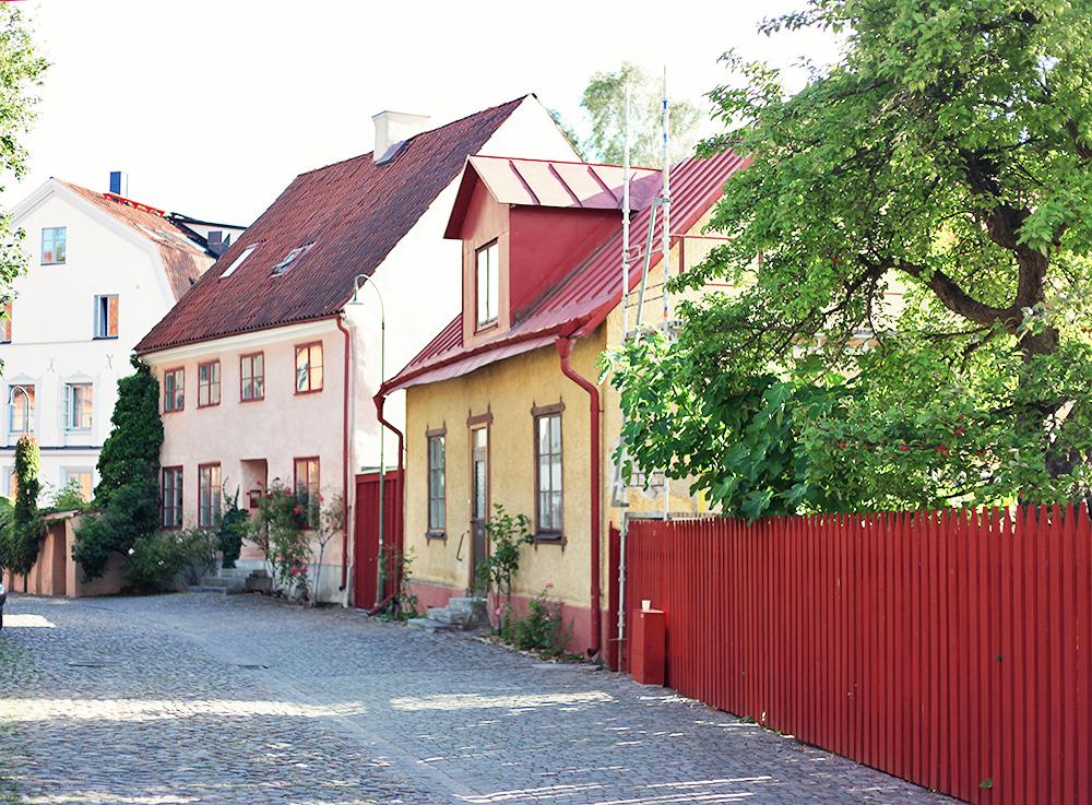 Visby gotland sommar