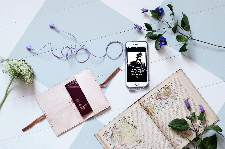 tågluffa med barn europa passfodral karta mobil app