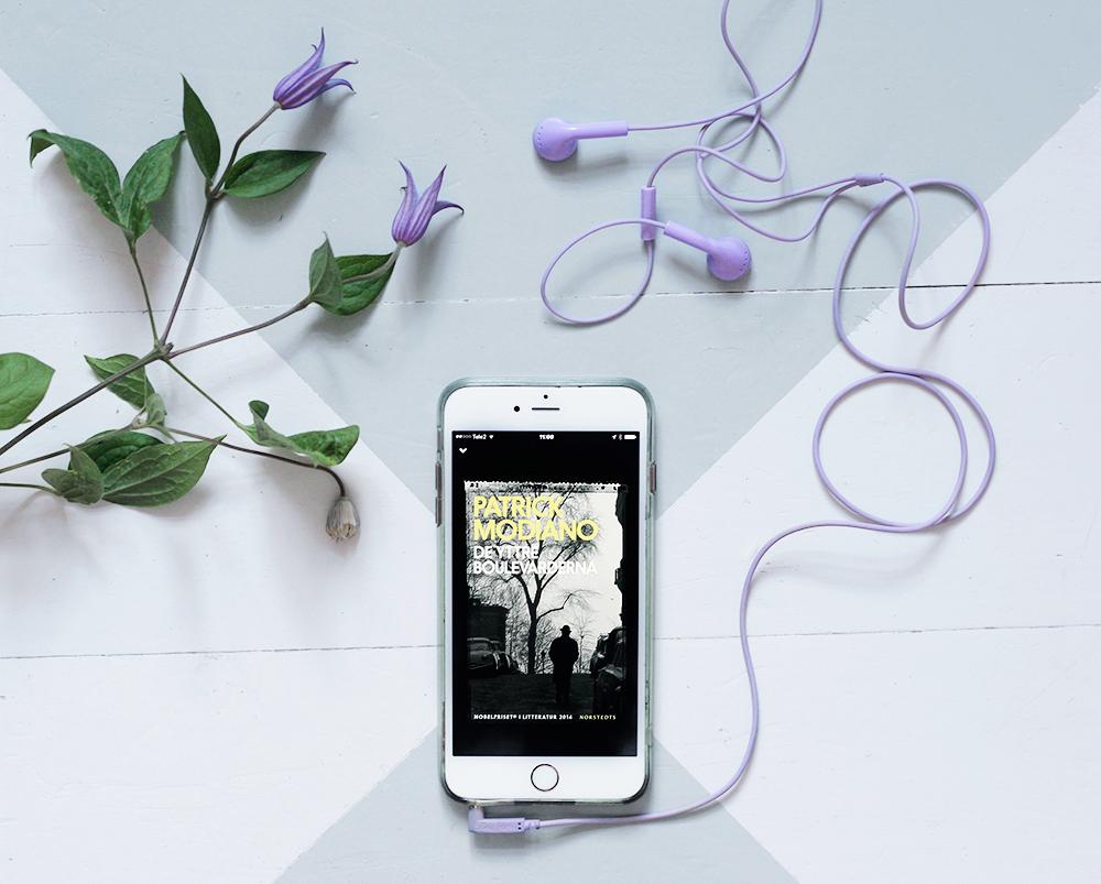 tågluffa med barn europa passfodral karta mobil app BookBeat hörlurar