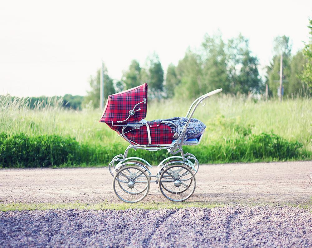 barnvagn retro vintage