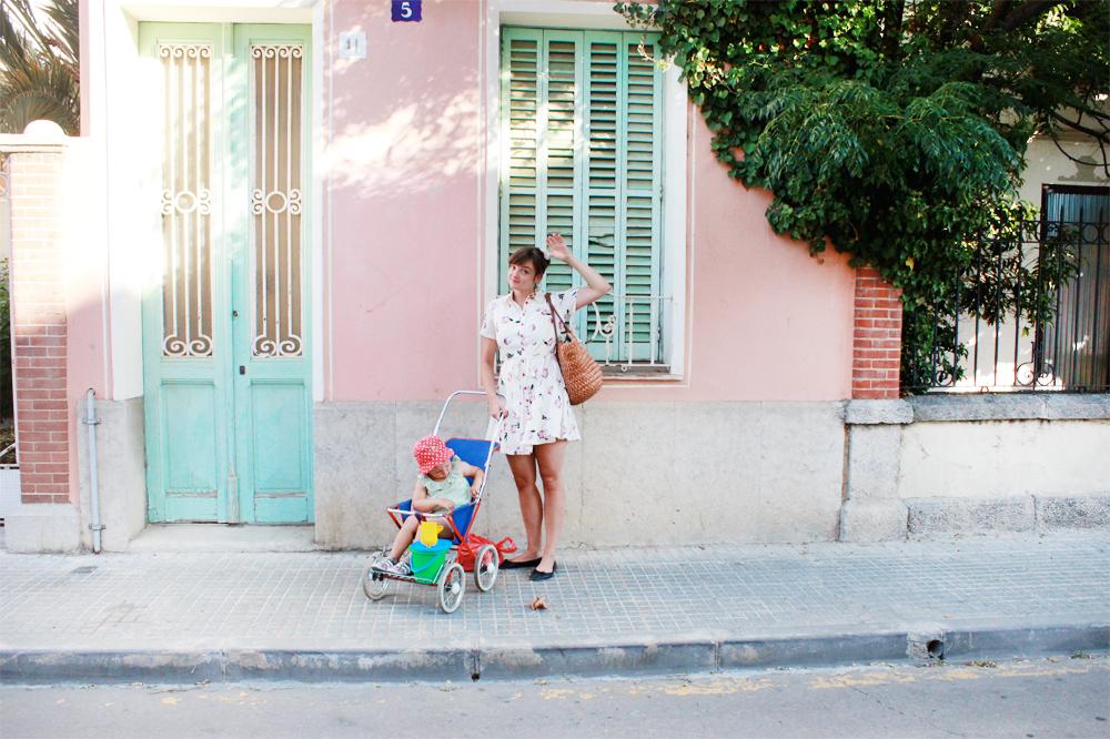 barnvagn retro sittvagn sulky