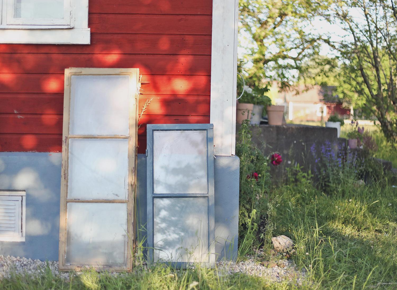fönster torp drivhus drivhusskåp Gotland