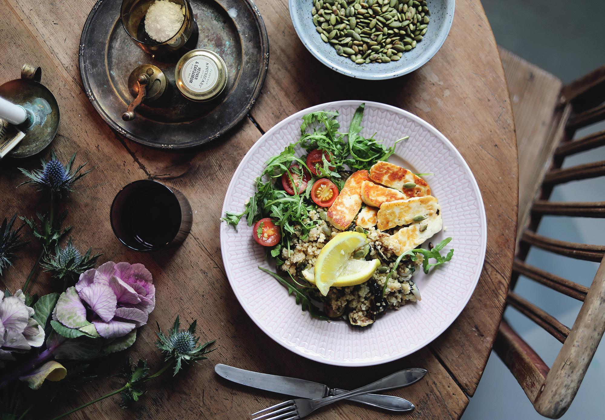 linas matkasse vegetarisk recept