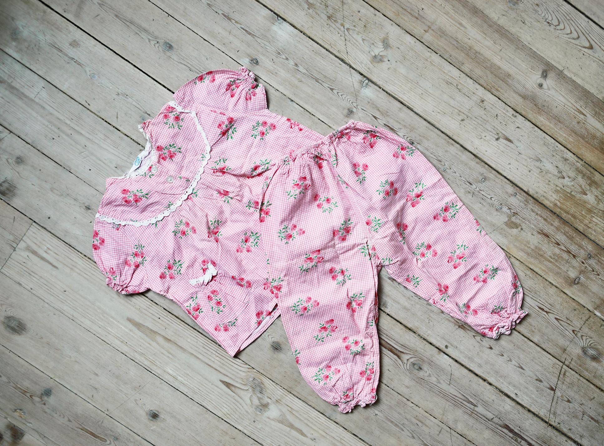 barnkläder pyjamas vintage secondhand emmasvintage