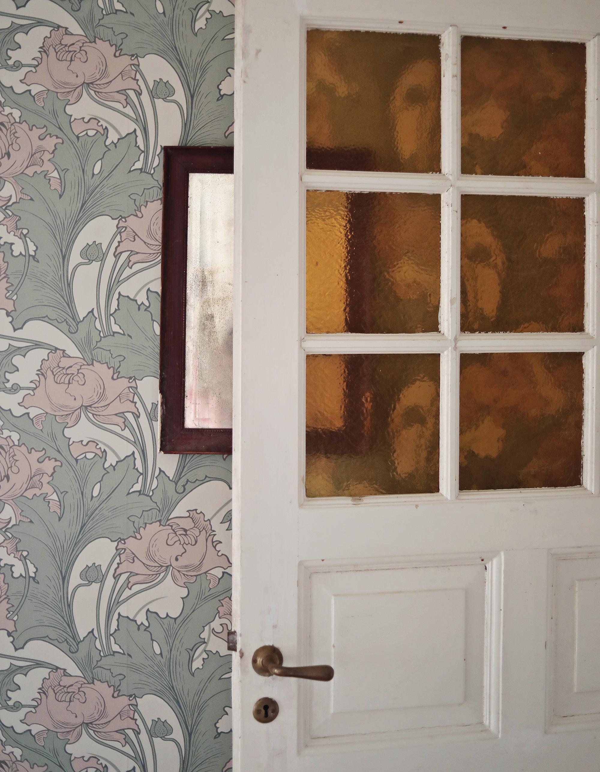 tapet tapeter wallpaper Boråstapeter Siri Anno inredning art nouveau
