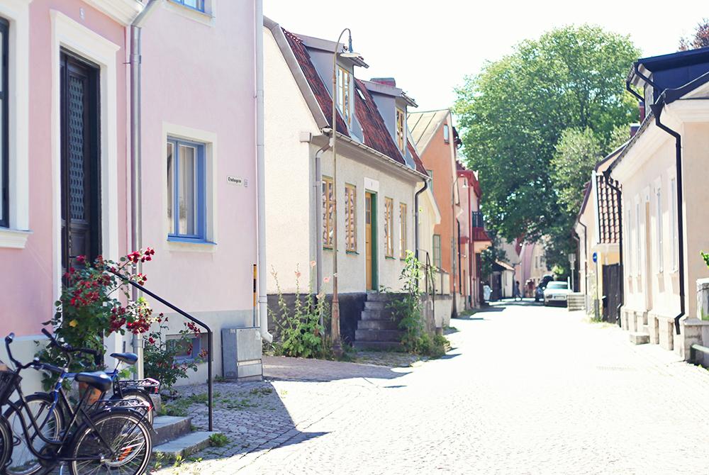 Gotland visby gator sommar semester emmasvintage