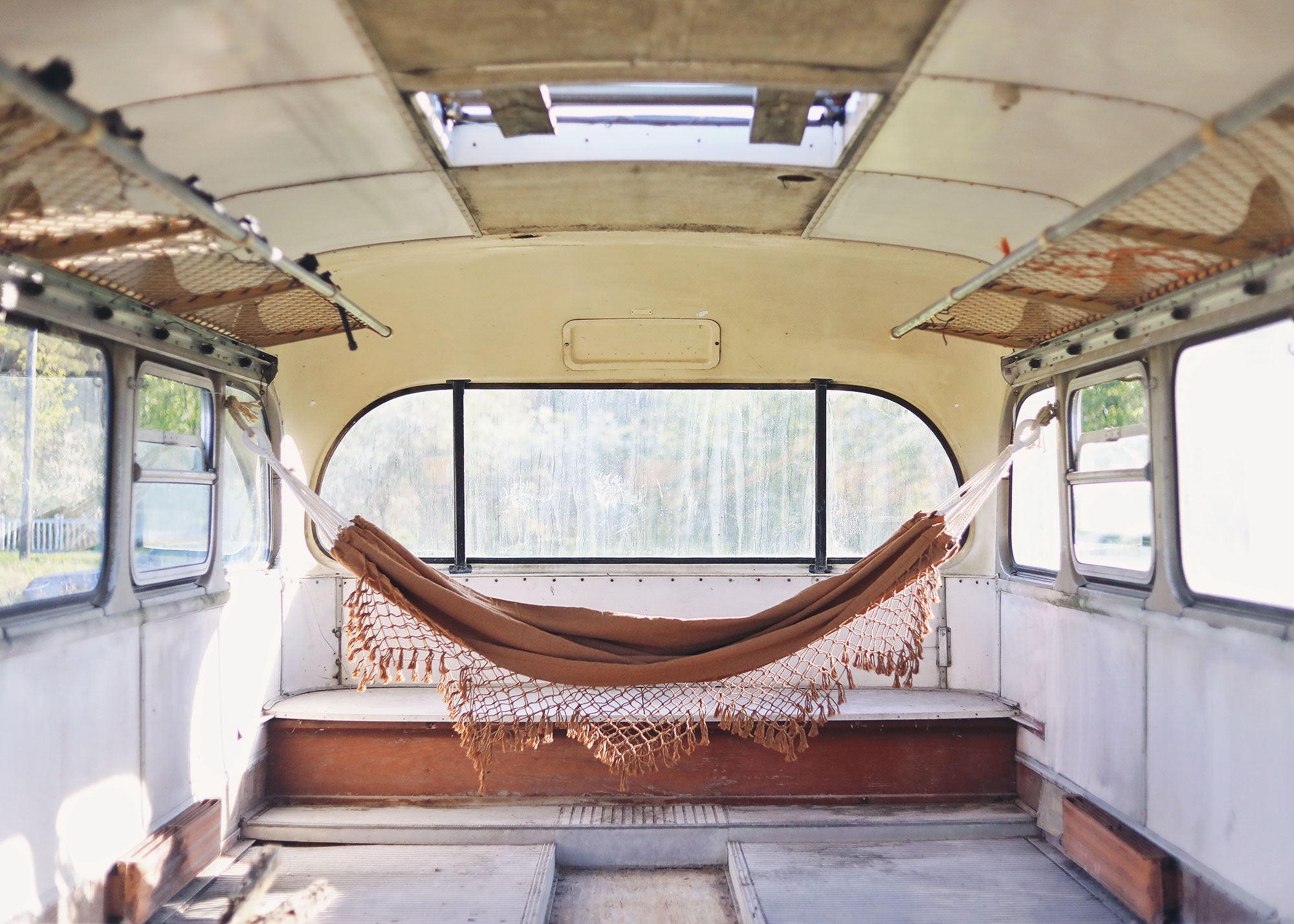 Gotland buss hängmatta Granit