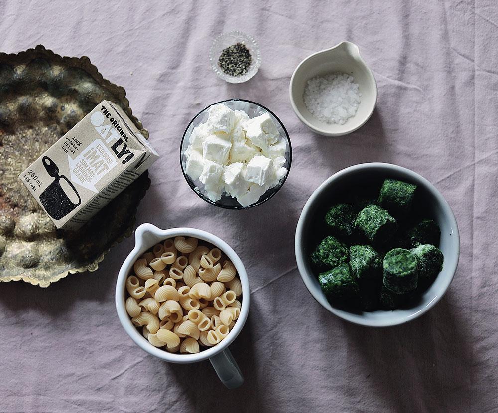 enkelt vegetariskt recept