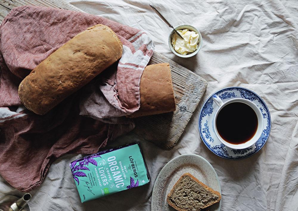 Löfbergs kaffe baka bröd kaffesalattar ekologiskt emmasundh.com