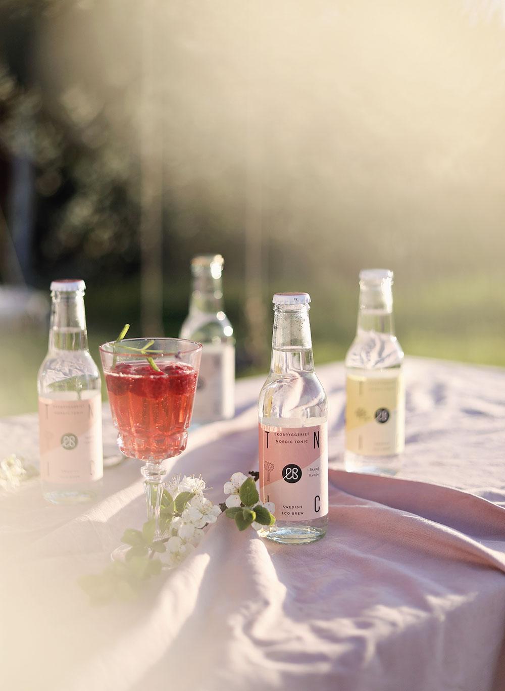 ekobryggeriet ekologisk drink ekologiska drinkar bär sommardrinkar rabarber